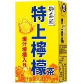 《御茶園》特上檸檬茶(250ml*6包/組)