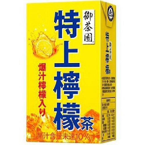 御茶園 特上檸檬茶(250ml*6包/組)