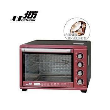 ★NORTHERN 【限時特價↓】北方 熱風循環 雙溫控 旋風 電烤箱 PF536 / PF-536