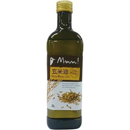 MMM 100%玄米油(1L/瓶)