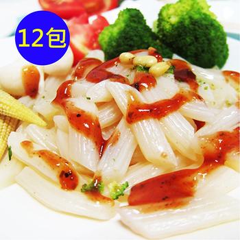 ★結帳現折★樂活e棧 低GI蒟蒻麵-義大利麵+5醬任選(12份)(蔬食義士青醬)