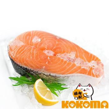 《極鮮配》智利鮭魚厚切(310g±10%/包-10包入)