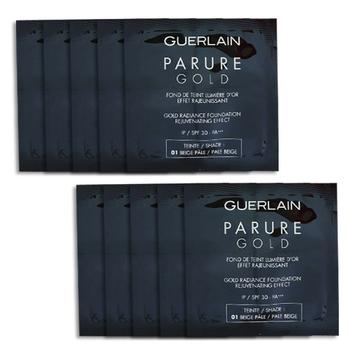 Guerlain 嬌蘭 24K純金光粉底液-色號01(1.5mlx10包)