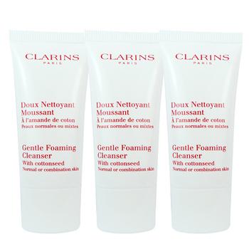CLARINS克蘭詩 棉花籽潔顏泡泡-混合肌膚適用(30mlx3入)
