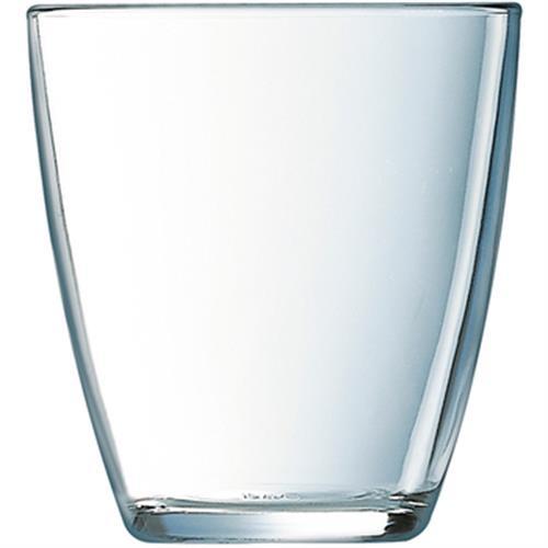 簡約玻璃水杯(250 ml)