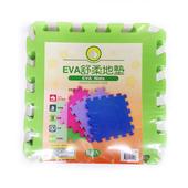 《FP》EVA舒柔地墊6入(綠色-32x32x1公分)