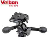 《Velbon》Velbon PHD-55Q雙握把項雲台-公司貨