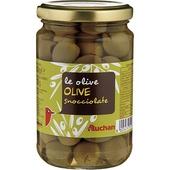 《Auchan》義大利醃漬去核橄欖(300GR/瓶)