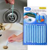 水管疏通萬用清潔棒-顏色隨機(12支/組)