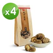 《十翼饌》上等埔里椴木香菇(110gx4包)