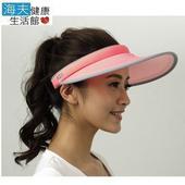 《【海夫健康生活館】》HOII SunSoul后益 先進光學 涼感 防曬UPF50紅光 黃光 藍光 大太陽帽(黃)