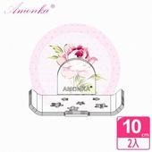 《AMONKA》3R神奇無痕掛勾長型星星造型香皂盤(粉漾玫瑰)(粉紅)2入