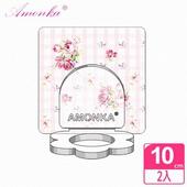 《AMONKA》3R神奇無痕掛勾花瓣造型乳液罐(田園玫瑰)(粉紅)2入
