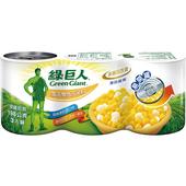 《綠巨人》金玉雙色玉米粒(198*3罐/組)