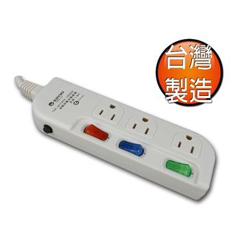 KINYO 三開三插大間距延長線MR33-06