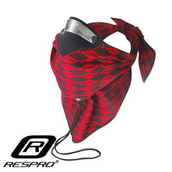 英國 RESPRO BANDIT 過濾PM2.5領巾式口罩(紅菱格)