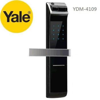 ★Yale ↓限時特價 耶魯 YDM4109 YDM-4109 電子鎖 熱感/觸控/卡片/密碼(多栓式防爆鎖匣型) 免費到府安裝服務