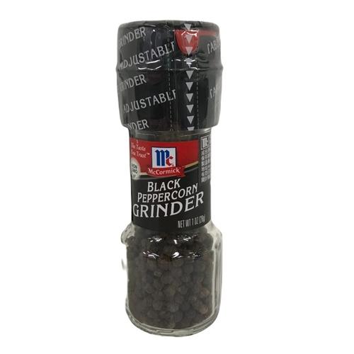 自磨式黑胡椒粒(1oz/瓶)