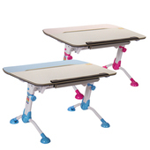《GXG》兒童成長 書桌 TW-3683 (桌寬105CM)(藍色/粉色)
