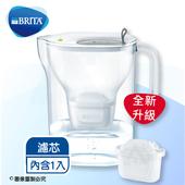 《德國BRITA》3.6L Fill&enjoy Style純淨濾水壺-灰色