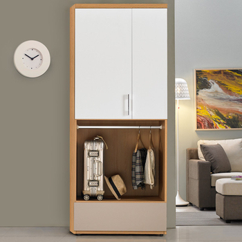 《Homelike》紹索2.7x7雙吊衣櫃