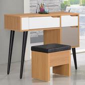 《Homelike》紹索化妝桌椅組