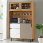《Homelike》紹索4尺收納餐櫃