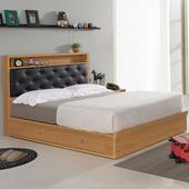 《Homelike》紹索抽屜式床台組-雙人5尺
