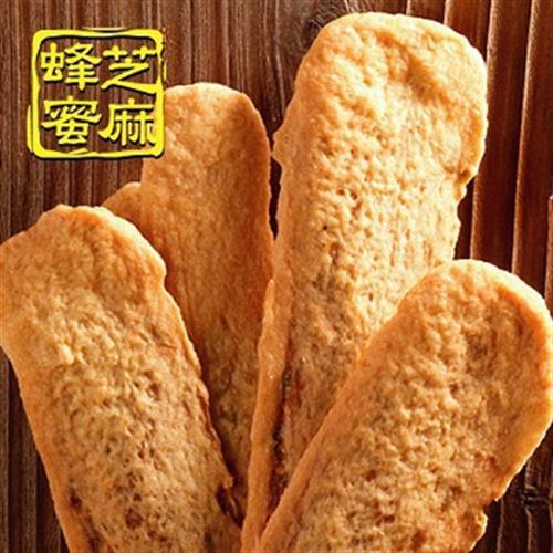 美雅宜蘭餅 牛舌餅(蜂蜜芝麻-85g/7片入)