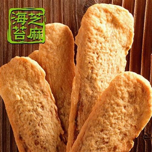美雅宜蘭餅 牛舌餅(海苔芝麻-85g/7片入)