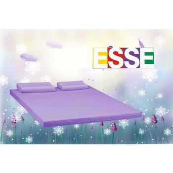 ESSE御璽名床 【買記憶床墊送記憶枕】3M透氣薰衣草精油2.5cm記憶床墊(雙人)