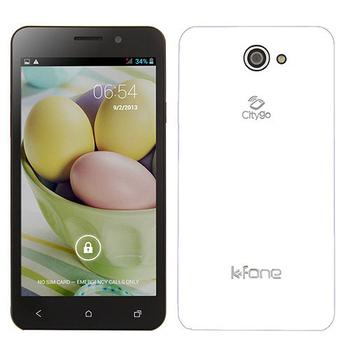 福利品 K Fone OLA 5吋四核雙卡智慧型手機(白)