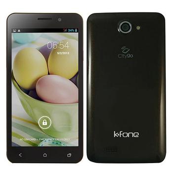 福利品 K Fone OLA 5吋四核雙卡智慧型手機(咖啡)