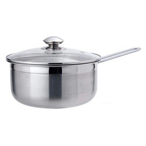Dashiang MIT304不鏽鋼單把湯鍋(附蓋)(20cm)