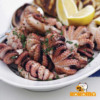 極鮮配 一口小章魚(250G±10%/包-4包入)