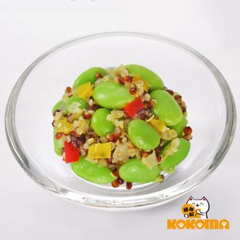 《極鮮配》健康潮食 藜麥毛豆(200g±10%/包-3包入)