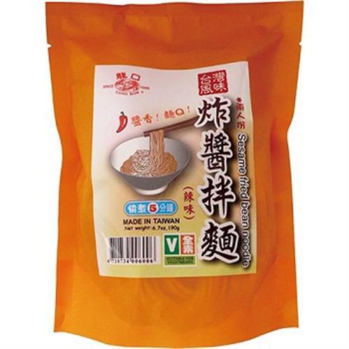 龍口 炸醬拌麵 單包-辣味(190g)