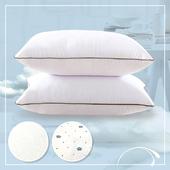 《三浦太郎》CERES 高彈性舒眠科技羽絲絨枕/2款任選(經典白)