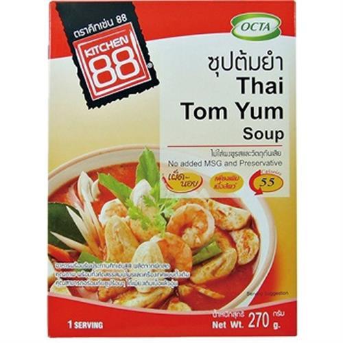 Kitchen 88 泰式酸辣海鮮湯調理包(270g/盒)
