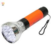 《月陽》大型充電式9+4強光聚焦LED手電筒露營燈小夜燈(NM-1477)