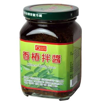 康健生機 香椿拌醬(380g/罐)
