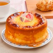 《預購-樂活e棧》生日快樂造型蛋糕-岩燒起司蜂蜜蛋糕(6吋/顆,共1顆)