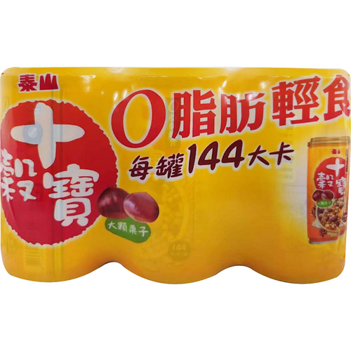 泰山 十穀寶(330g*6罐/組)