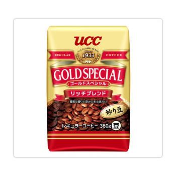 UCC 金質香醇綜合咖啡豆360g*6入