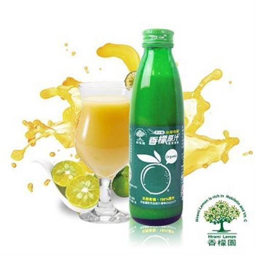 香檬園 有機轉型期台灣香檬原汁100%(200ml/瓶)