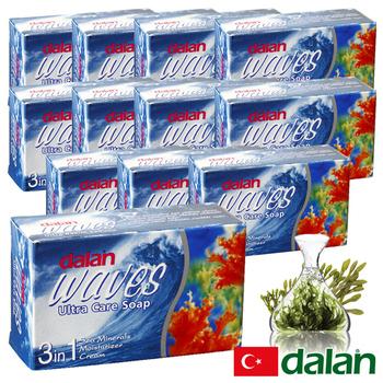 《土耳其dalan》墨角藻緊緻嫩白皂 12入破盤組(75gx12)買就送歐美香氛皂一入(隨機出貨)