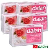 《土耳其dalan》粉柔玫瑰牛奶療浴皂  5入超值組(175gX5)