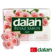 《土耳其dalan》純玫瑰嫩白浴皂 4入超值組(175g X4)