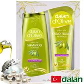 《土耳其dalan》橄欖油珍珠麥蛋白護色魔髮組禮盒(400ml+200ml)