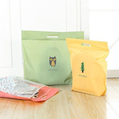 《JTourist》Q版卡通包包防水防塵收納袋(小)(麋鹿粉色)